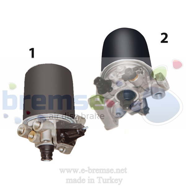 10100 Mercedes Benz Man Daf Scania Air Dryer Valve 9324000030, 432410... Series