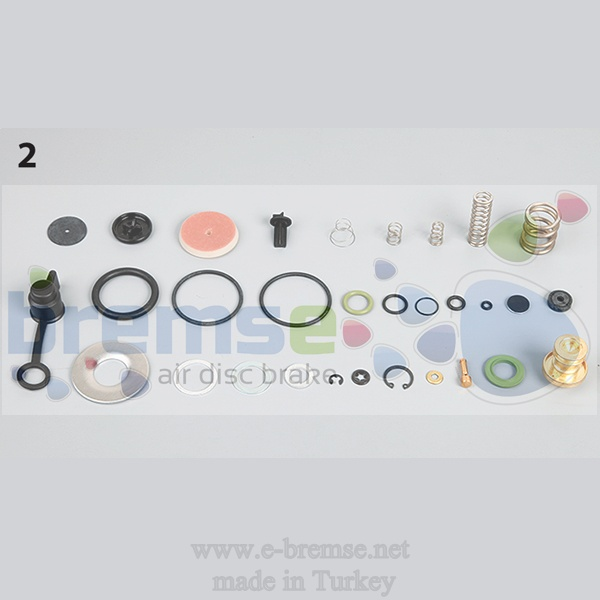 10112 Mercedes Benz Man Daf Scania Air Dryer Valve Repair Kit 4324100002, 9324000030, 4324100002