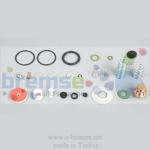 10122 Mercedes Man Daf Scania Air Dryer Valve Repair Kit 324100000, 4324100210, 4324100380,4324101120, 43241000121