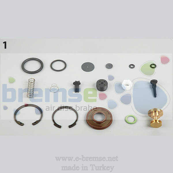 10142 Mercedes Man Daf Scania Air Dryer Valve Repair Kit  9324000030, 9324000020 9324000012