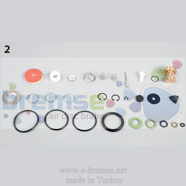 10152 Mercedes Man Daf Scania Air Dryer Valve Repair Kit  9324000030, 9324000020 9324000012