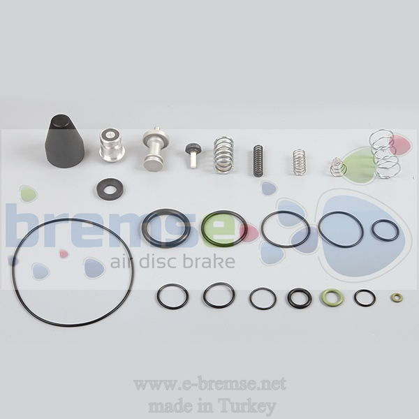 10422 Man L2000 M2000 Air Dryer Valve Repair Kit LA6200, LA6204, LA6277, I87917