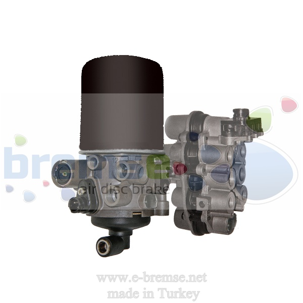 11900 Daf Iveco Air Distribution Valve ZB4586, ZB4587, ZB4588, K012243N00, 41211254, 41285078, 42113831