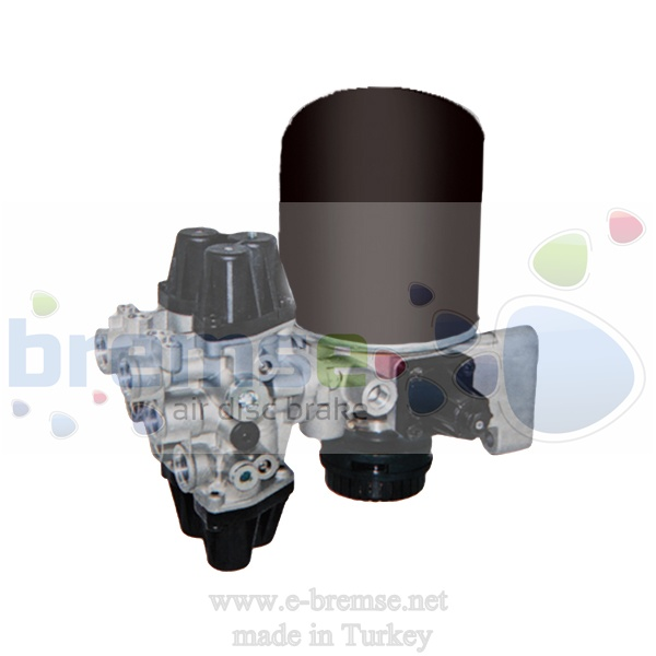 12100 Mercedes Axor Actros Evobus Air Distribution Valve 9325000030, 9325000040, 9325000210