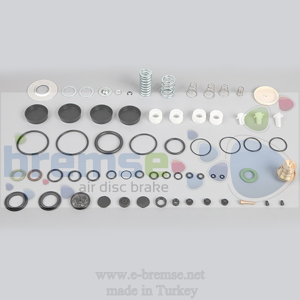 12112 Mercedes Axor Actros Evobus Air Distribution Valve Repair Kit 9325000030, 9325000040, 9325000210