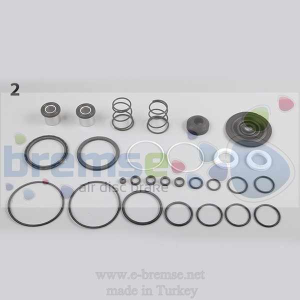 20142 Mercedes Foot Brake Valve Repair Kit 4613199122, 4613152640, 46131526701