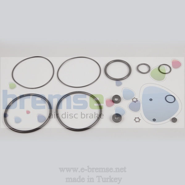 31702 Mercedes Man Daf Volvo Scania Dorse Control Repair Kit 201002001, 9710050000, 281865, 281672