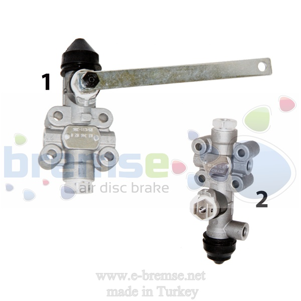 35000 Mercedes Man Neoplan Setra Suspension Valve SV1260, SV1295, I69784, I865341