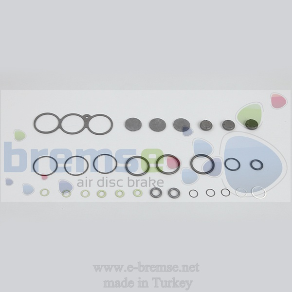 35602  Mercedes Man Daf Renault Scania Iveco ECAS Valve Repair Kit 4729000010, 4729000070, 47290010201