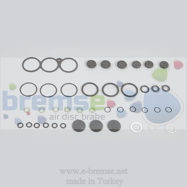 35802 Mercedes Man Daf Renault Ecas Valve Repair Kit 4729001000, 4729001010, 4729000000, 4729000002, 4729000032