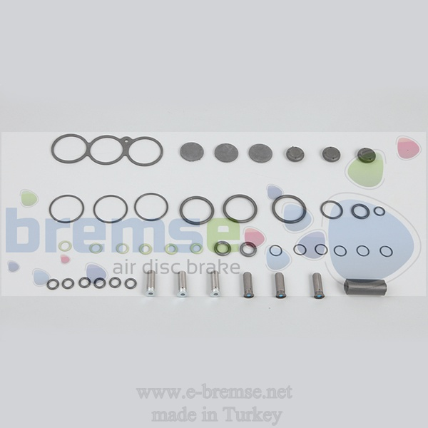 35812 Mercedes Man Daf Renault Ecas Valve Repair Kit 4729001000, 4729001010, 4729000000, 4729000002, 4729000032