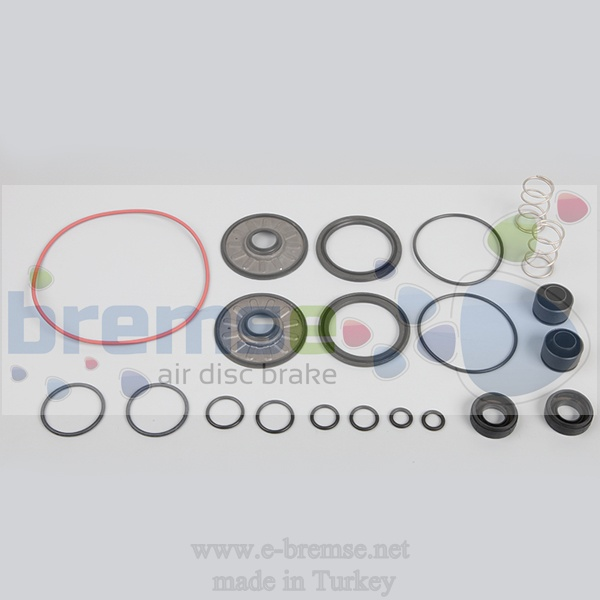 38202 Daf Iveco Man Neoplan Ebs Modulator Repair Kit 4801040010, 4801040020, 4801040030